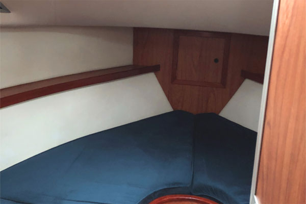 The Sleeping Cabin on the Noble Cadet