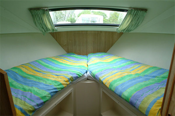 One of the cabins on the Caprice.