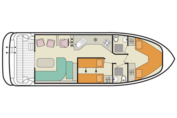 The plan of the Caprice Cruiser