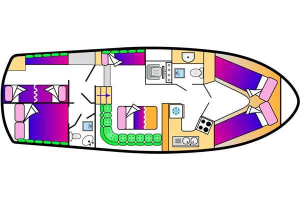Clare Class Cruiser Plan