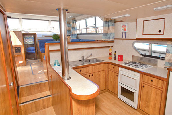The Galley on the Classique Cruiser