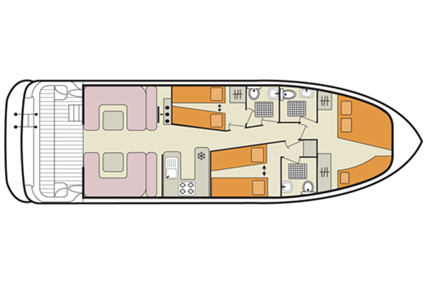 Plan of the Elegance Cruiser.