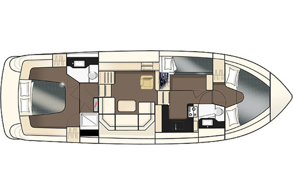 Layout plan of the Inver Empress Hire Cruiser