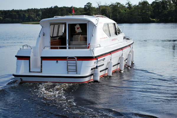 Shannon River Boats for Hire in Ireland - Inver Prince