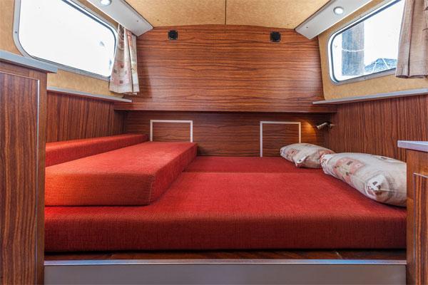 Double Cabin on the P1107W Penichette.