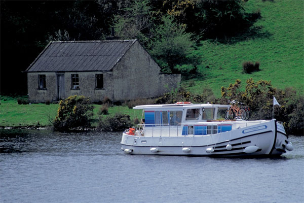 The P1120R Aft Deck Penichette for hire in Ireland.