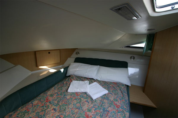 The Cabin on the Limerick Class Cruiser.