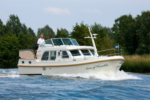 The Linssen Grand Sturdy Hire Boat Ireland