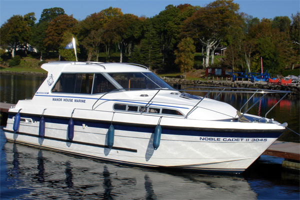 Shannon River Boats for Hire in Ireland - Noble Cadet