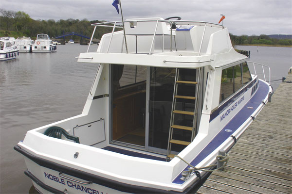 Shannon River Boats for Hire in Ireland - Noble Chancellor