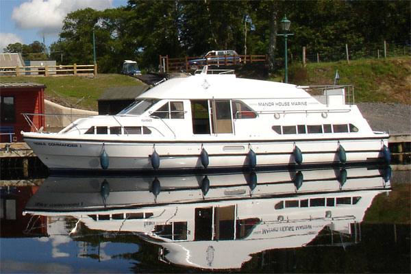 Shannon River Boats for Hire in Ireland - Noble Commander
