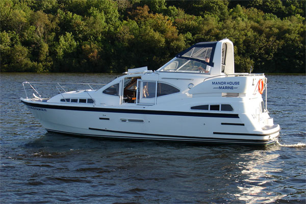Shannon River Boats for Hire in Ireland - Noble Duke