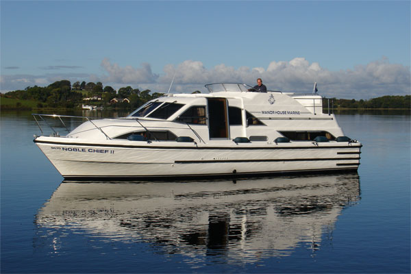 Shannon River Boats for Hire in Ireland - Noble Chief