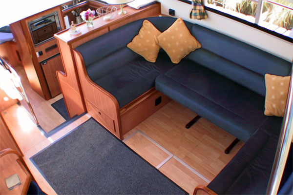 The Saloon on the Commander.