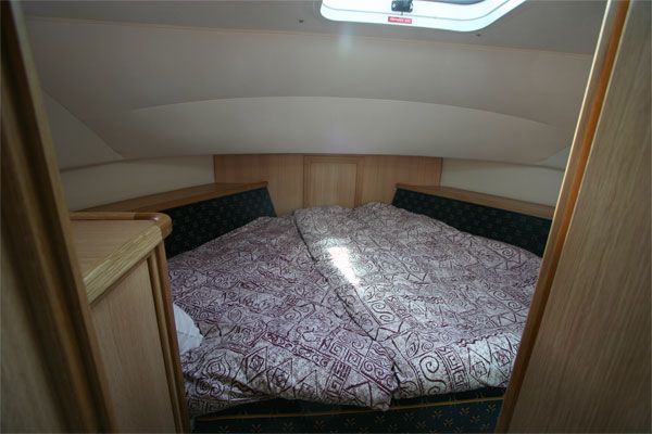 The forward cabin on the Roscommon Class cruiser.
