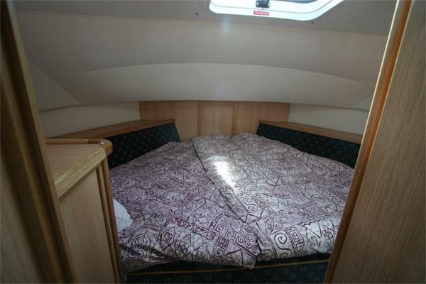 The forward cabin on the Roscommon Class cruiser.