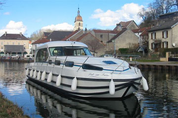Boats for Hire in Burgundy, France - Sedan 1310