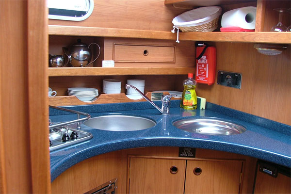 The Silver Spray Galley.