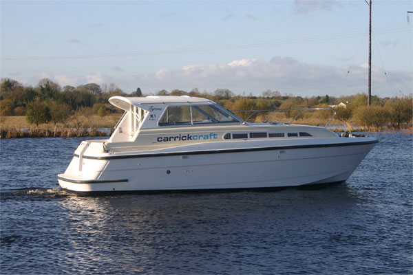 The Tyrone Class Cruiser - Shannon River Boat hire Ireland.
