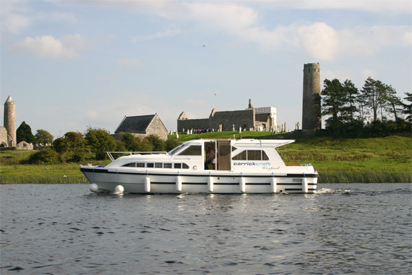 Shannon River Boats for Hire in Ireland - Wexford Class