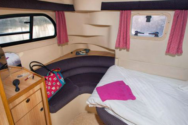 Rear Sleeping Cabin on the Consul Cruiser