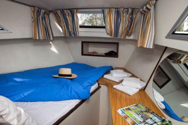 Cabin on the Corvette Cruiser