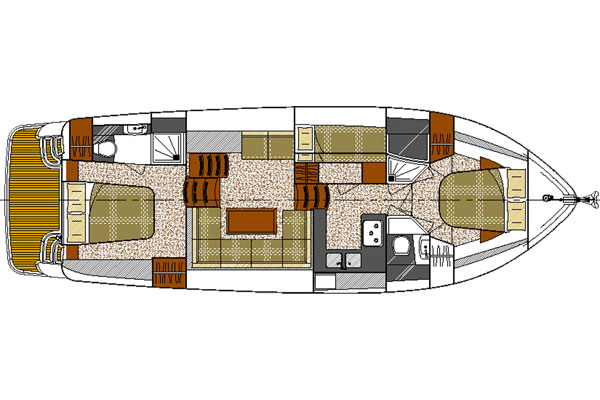 Layout of the Noble Emperor Hire Cruiser