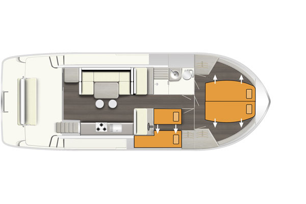 Layout of the Horizon Hire Cruiser