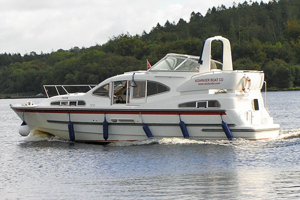 Shannon River Boats for Hire in Ireland - Inver Duke