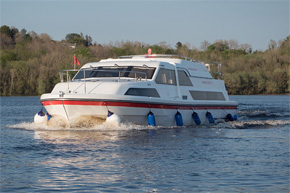 The Inver Lady 10+2 berth hire cruiser