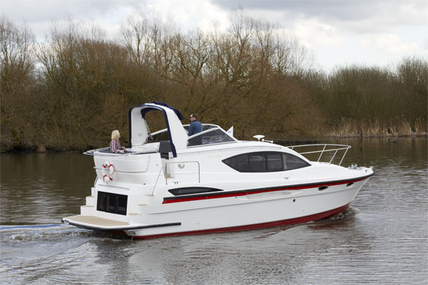 Shannon River Boats for Hire in Ireland - Inver Queen