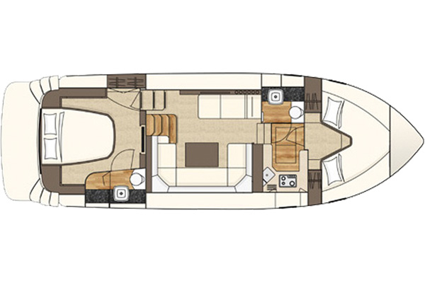 Layout Plan of the Inver Queen Hire Boat