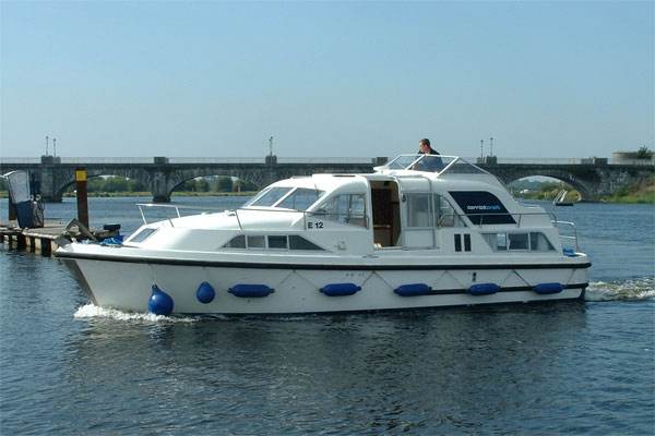 Shannon River Boats for Hire in Ireland - Kilkenny Class