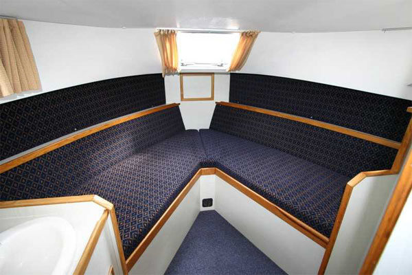 Forward Cabin on the Kilkenny Class Hire Boat