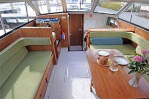 Helm on the Lake Star Cruiser