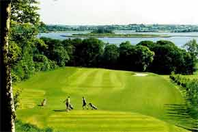 A superb 18-hole parkland course, bounded on three sides by picturesque Lough Ree. USGA Standard Greens, Visitors Welcome.
