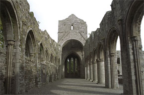 An impressive and well preserved Cistercian Monastery which was founded in the 12th century.
