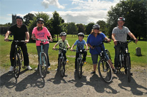 Bike Hire at Leitrim Village, Carrick on Shannon & Lough Key Forest and Activity Park.