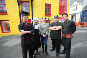 Kin Khao has won every major foodie award for its food and service.  Great food, wine list and service have all made Kin Khao the very best Thai restaurant in Ireland.