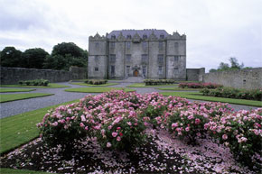 Portumna Castle at Portumna on the Shannon River
