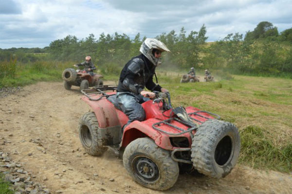 Set on over 100 acres of fantastic Irish countryside! This off-road motor-powered adventure is perfect for all levels – from the novice to the experienced.