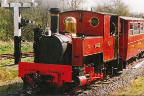 Railway museum with steam train trips on the old narrow gauge Cavan-Leitrim line.