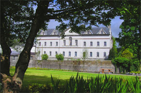 King House in Boyle on the Shannon River Ireland