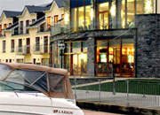 Crusing on the Shannon River - the Leitrim Marina Hotel