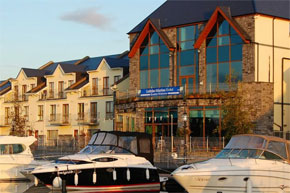 The Leitrim Marina Hotel, for Cruising on the Shannon River in Ireland