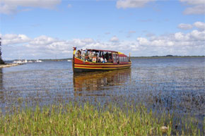 Boat tour of Athlone and surrounding areas, approximately 75 minutes.