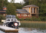 Wineport Lodge has the most blissful setting on the edge of Ireland's peaceful Inland Waterways. Food that is deliciously innovative and an eclectic wine list.