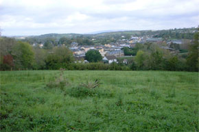 Up on a hill overlooking Ballinamore