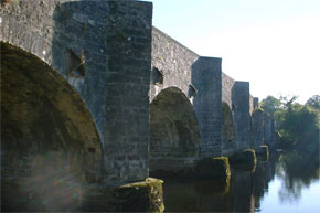 The bridge at Drumsna marks the end of navigation.