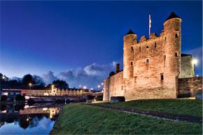 The castle at Enniskillen - courtesy of Philip Robinson, Hampshire, UK.